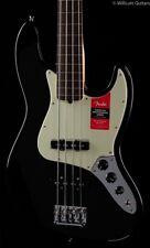Fender American Professional Fretless Jazz Bass Black Rosewood (794)