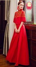 Chinese wedding dress QiPao Kwa cheongsam 18 Sizes available No Custom make