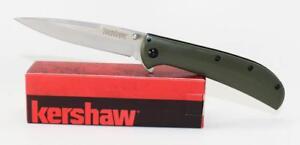 Kershaw Al Mar AM-4 Knife Green G-10 Handle 8Cr13MoV Plain Edge 2330GRN
