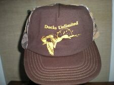 DUCKS UNLIMITED Vintage Camo Mesh Snapback Trucker Hat