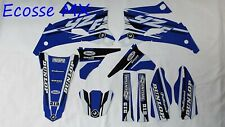Yamaha YZ250F YZ450F 2008-2009 NEW FLU PTS4 Graphics Kit Decals Motocross