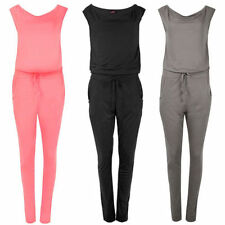 Polyester Patternless Petite Jumpsuits & Playsuits for Women