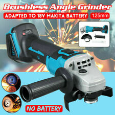 800W Sans fil Brushless Meuleuse d'angle 125mm Pr 18V Makita Li-Ion Batterie