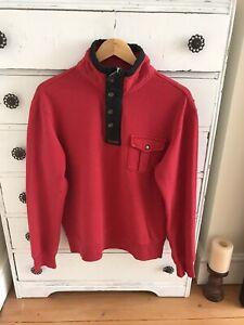 Men's Polo Ralph Lauren Red Sweatshirt Medium