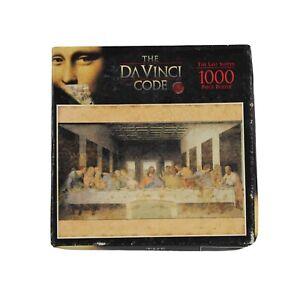 The Da Vinci Code Last Supper 1000pc Jigsaw Puzzle Leonardo De Vinci