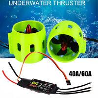 DIY Brushless Underwater Thruster Motor 4-Blatt-Propeller für ROV RC Bait Boat