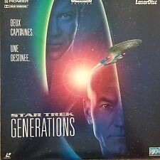 LASERDISC - STAR TREK GENERATIONS- PAL VF WS