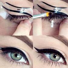 10/24 PZAS Delineador De Ojos Plantillas Sombra/Eyeshadow Guía AHUMADO
