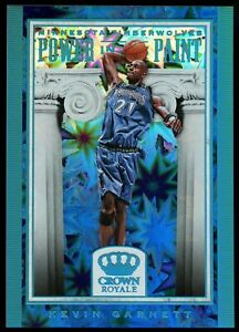 2018-19 Crown Royale Power in the Paint #25 Kevin Garnett SP
