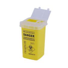 Sharps Bin Needle Waste Storage Box Insulin Syringe Tattoo-Medical Waste Box 1L