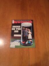 Newsweek Magazine Drugs On The Job August 22 1983 Drought of '83 Kaddafi