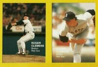 1988 Roger Clemens Play Ball America CARD #2 Lot Vintage Baseball Boston Red Sox