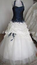 Bellice blue/ivory wedding dress UK 8/10