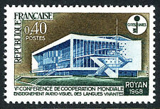 France 1208, MNH. Audio-visual Institute, Royan, 1968