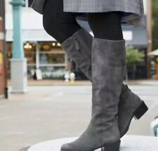Timberland Women's New Sutherlin Bay Tall Dark Grey Boot $230. Size:7