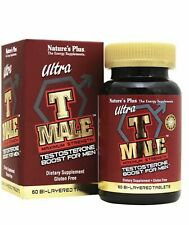 Nature's Plus Ultra T Male Test Boost 60 Tablets Energy Stamina Libido