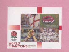Great Britain, 2003 SG2416, World champions Rugby, Mint mini sheet