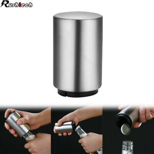 Automatic Beer Soda Bottle Opener Stainless Steel Magnetic Bottle Cap Bar Party