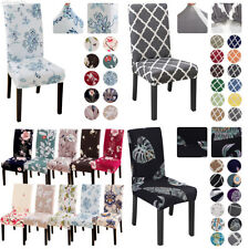 Stretch Dining Chair Cover Banquet Wedding Slipcover Removable Cover Home Decor~