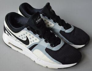Men's Black & Grey Nike Air Max Zero Trainers Size UK 9, EU 44.