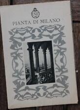 28546 Stadtplan Milano Pianta di Milano um 1930