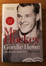 MR HOCKEY: MY STORY AUTOGRAPHED EDITION - Gordie Howe - Signed by Gordon!!