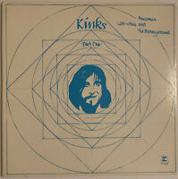 THE KINKS LOLA VERSUS POWERMAN AND THE MONEYGOROUND LP REPRISE USA 1970 EX+