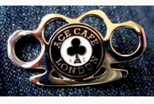 Ace Cafe Pin Badge, BSA Bikers, Piston Broke, Ton Up Pirate, Manx TT, MCN, Ogri.