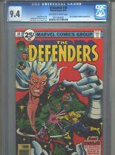 Defenders #38 CGC 9.4 (1976) Eel Porcupine Nebulon Dr. Doctor Strange Power Man