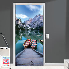 Scandinavia Steps to freedom - Self-adhesive Door Mural Decal Stickers Film 90cm