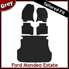 Ford Mondeo (2000 2001 2002...2007) Estate Tailored Fitted Car + Boot Mats GREY