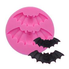 DIY Halloween Bat Cake Mold Silicone Molds Sugar Craft Chocolate Mould A788