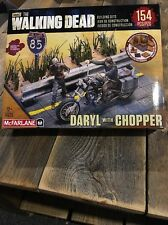 McFarlane Toys Building Sets -The Walking Dead TV Daryl Dixon with Chopper New