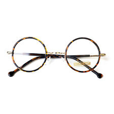 1920s Vintage oliver rétro lunettes rondes 33R2 Leopard Round eyewear findhoon