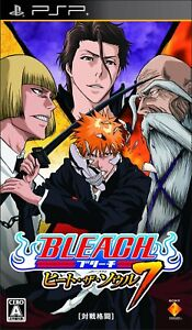 BLEACH heat the soul 7 PSP Sony Sony PlayStation Portable From Japan