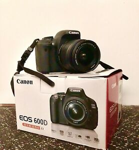 Canon EOS 600D 18.0 MP Digital SLR Camera with Carry Bag