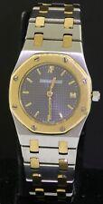 Audemars Piguet Royal Oak E6672 SS/18K gold elegant quartz ladies watch w/ date