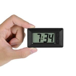 Digital LCD Home Office Table Car Dashboard Desk Date Time Calendar Small Clock