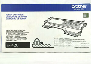 Genuine Brother TN-420 Toner Cartridge Black!