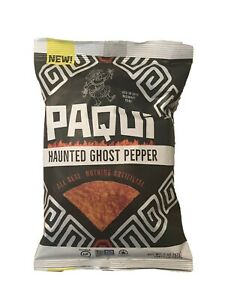 One Bag Paqui Haunted Ghost Pepper Bag Hot Carolina Reaper Chip Challenge