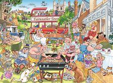 Wasgij Mystère 15 Typique Britannique BBQ Puzzle (1000 Pièces)