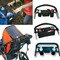Universal Baby Pram Buggy Organiser Pushchair Stroller Storage Cup Holder Bag F1