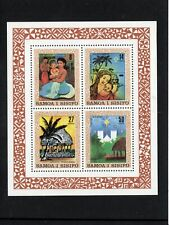 Samoa 1980 Christmas Paintings sheet UM (MNH)