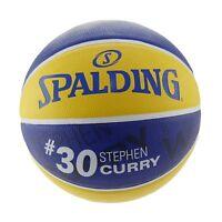 Spalding NBA Player Ball Stephen Curry Golden State Warriors Rubber Basketball