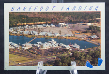 Postcard Barefoot Landing North Myrtle Beach South Carolina SC
