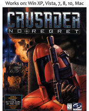 Crusader No Regret PC Mac Game 1996 Windows XP Vista 7 8 10