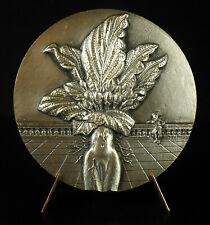 Médaille Abraham Bosse graveur du Roy, érotisme Mandragore Mandragora Mat medal