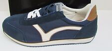 Madden by Steve Madden Size 13 Blue Leather Sneakers New Mens Shoes