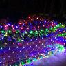 RENUS 10x6.5Ft 320 LED Net Lights Christmas Decorations 8 Modes for Flashing