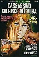 L'Assassino Colpisce All'alba DVD Nuovo Alida Valli di Marc Simenon Come Foto